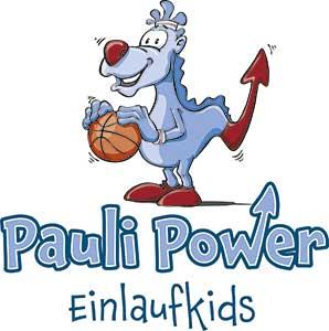 Pauli Power Einlaufkids