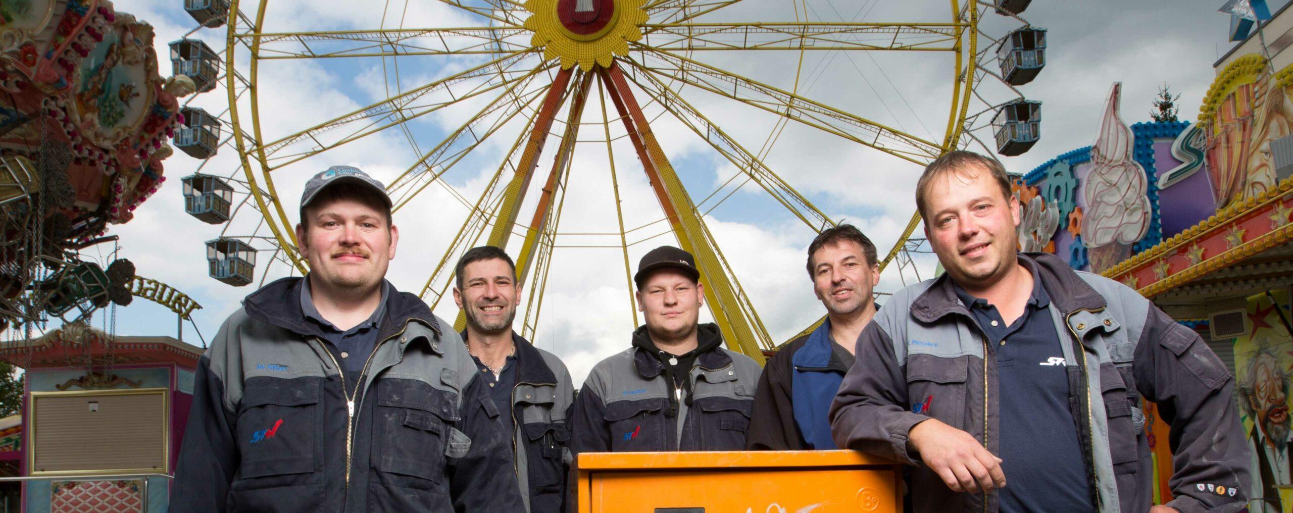 Logo Mitarbeiter der Stadtwerke Volksfest