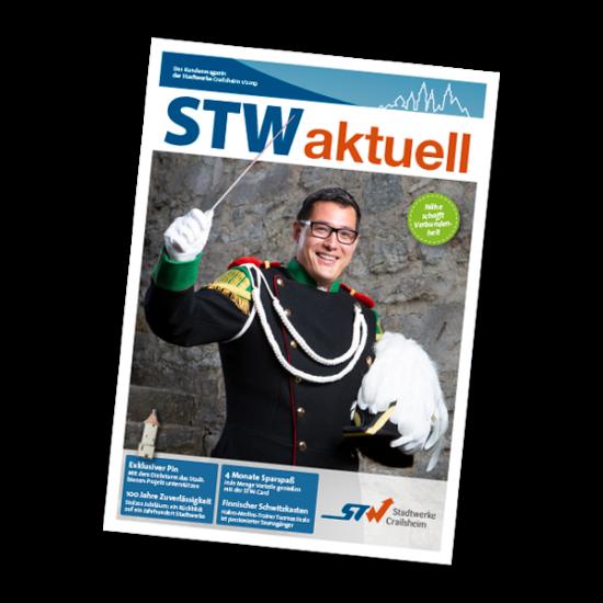 Titelseite der STW aktuell Ausgabe 01 2019