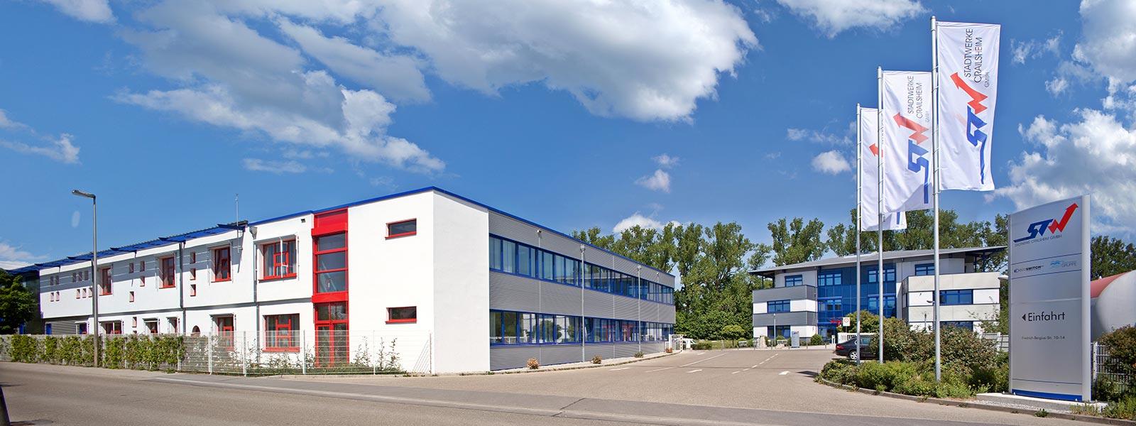 Gebäude der Stadtwerke Crailsheim